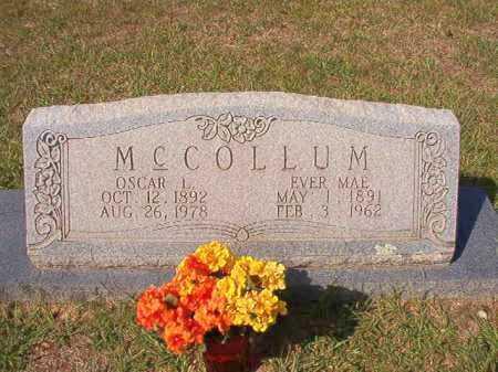 MCCOLLUM, OSCAR L - Dallas County, Arkansas | OSCAR L MCCOLLUM - Arkansas Gravestone Photos