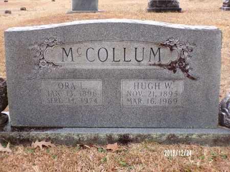MCCOLLUM, ORA L - Dallas County, Arkansas   ORA L MCCOLLUM - Arkansas Gravestone Photos