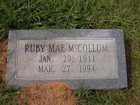 MCCOLLUM, RUBY MAE - Dallas County, Arkansas | RUBY MAE MCCOLLUM - Arkansas Gravestone Photos