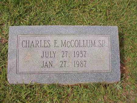MCCOLLUM, SR, CHARLES E - Dallas County, Arkansas | CHARLES E MCCOLLUM, SR - Arkansas Gravestone Photos
