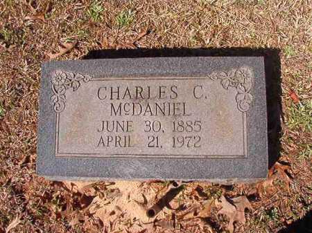 MCDANIEL, CHARLES C - Dallas County, Arkansas | CHARLES C MCDANIEL - Arkansas Gravestone Photos