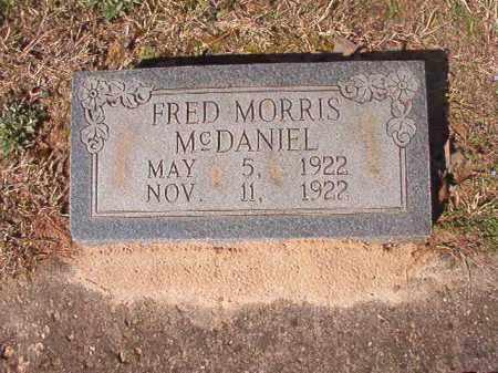 MCDANIEL, FRED MORRIS - Dallas County, Arkansas | FRED MORRIS MCDANIEL - Arkansas Gravestone Photos