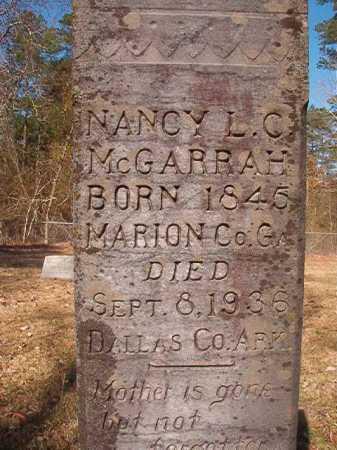 MCGARRAH, NANCY L C - Dallas County, Arkansas | NANCY L C MCGARRAH - Arkansas Gravestone Photos