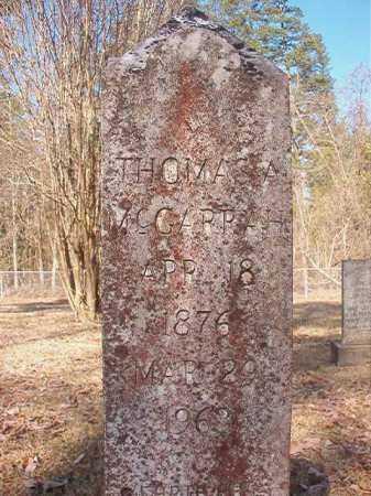 MCGARRAH, THOMAS A - Dallas County, Arkansas | THOMAS A MCGARRAH - Arkansas Gravestone Photos