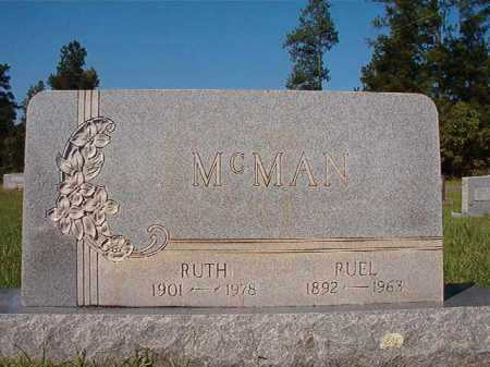 MCMAN, RUTH - Dallas County, Arkansas | RUTH MCMAN - Arkansas Gravestone Photos
