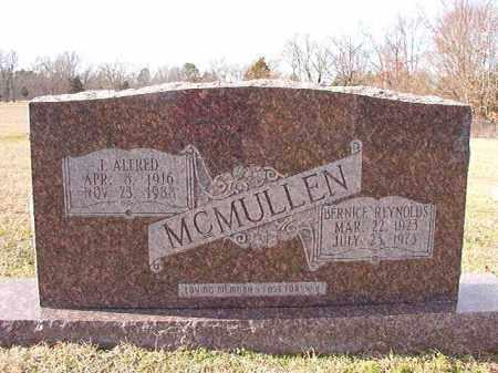 MCMULLEN, J ALFRED - Dallas County, Arkansas | J ALFRED MCMULLEN - Arkansas Gravestone Photos
