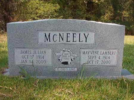 MCNEELY, JAMES JULIAN - Dallas County, Arkansas | JAMES JULIAN MCNEELY - Arkansas Gravestone Photos