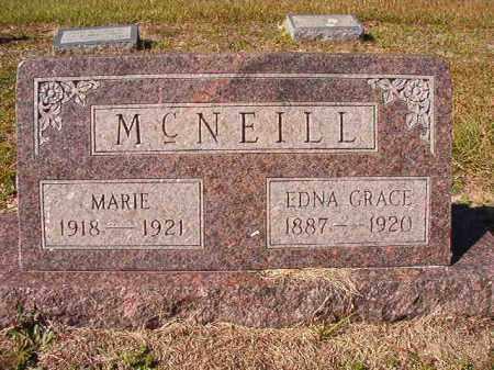 GRACE MCNEILL, EDNA - Dallas County, Arkansas | EDNA GRACE MCNEILL - Arkansas Gravestone Photos