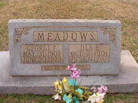 MEADOWS, OLA B - Dallas County, Arkansas | OLA B MEADOWS - Arkansas Gravestone Photos