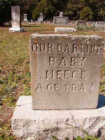 MEECE, BABY - Dallas County, Arkansas | BABY MEECE - Arkansas Gravestone Photos