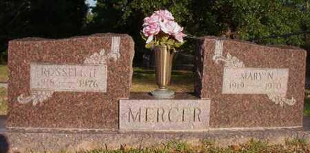 MERCER, MARY N - Dallas County, Arkansas | MARY N MERCER - Arkansas Gravestone Photos
