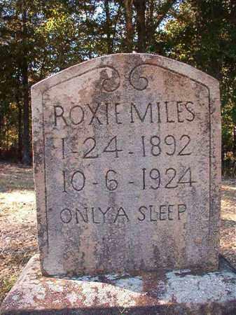 MILES, ROXIE - Dallas County, Arkansas | ROXIE MILES - Arkansas Gravestone Photos