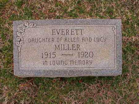 MILLER, EVERETT - Dallas County, Arkansas | EVERETT MILLER - Arkansas Gravestone Photos