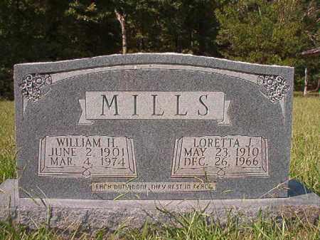 MILLS, LORETTA J - Dallas County, Arkansas   LORETTA J MILLS - Arkansas Gravestone Photos