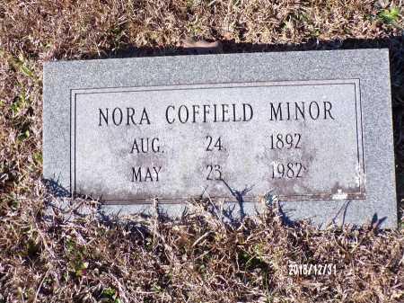 COFFIELD MINOR, NORA - Dallas County, Arkansas | NORA COFFIELD MINOR - Arkansas Gravestone Photos
