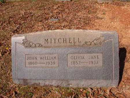 MITCHELL, OLIVIA JANE - Dallas County, Arkansas | OLIVIA JANE MITCHELL - Arkansas Gravestone Photos