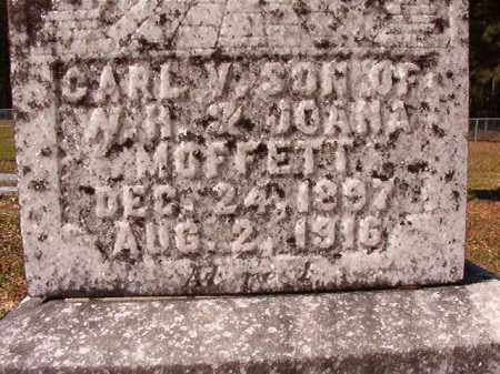 MOFFETT, CARL V - Dallas County, Arkansas | CARL V MOFFETT - Arkansas Gravestone Photos