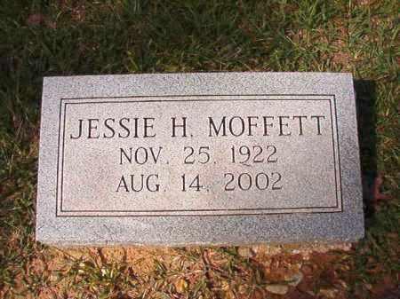 MOFFETT, JESSIE H - Dallas County, Arkansas | JESSIE H MOFFETT - Arkansas Gravestone Photos
