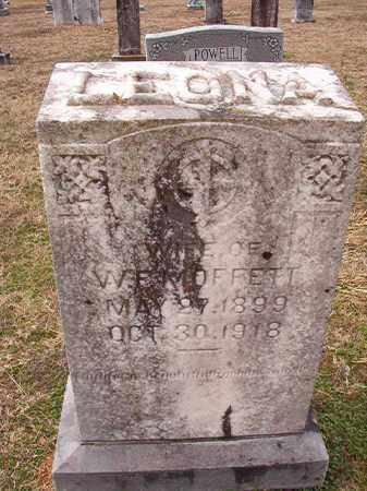 MOFFETT, LEONA - Dallas County, Arkansas | LEONA MOFFETT - Arkansas Gravestone Photos