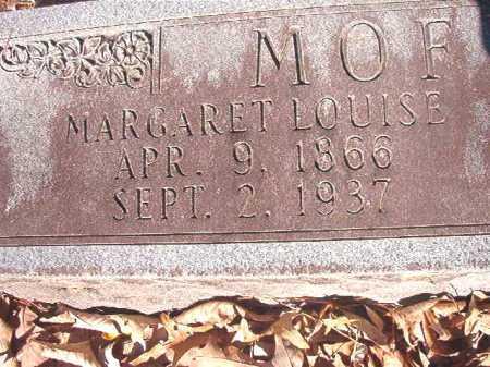 MOFFETT, MARGARET LOUISE - Dallas County, Arkansas | MARGARET LOUISE MOFFETT - Arkansas Gravestone Photos