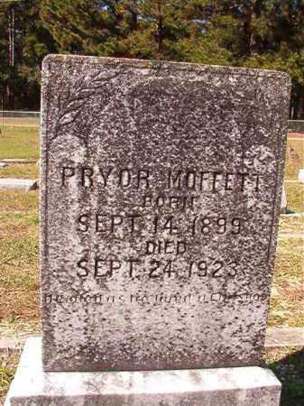 MOFFETT, PRYOR - Dallas County, Arkansas | PRYOR MOFFETT - Arkansas Gravestone Photos