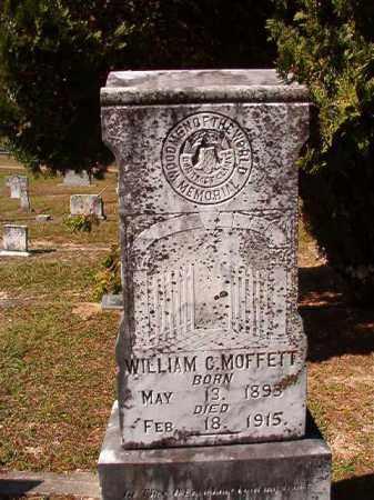 MOFFETT, WILLIAM G - Dallas County, Arkansas   WILLIAM G MOFFETT - Arkansas Gravestone Photos