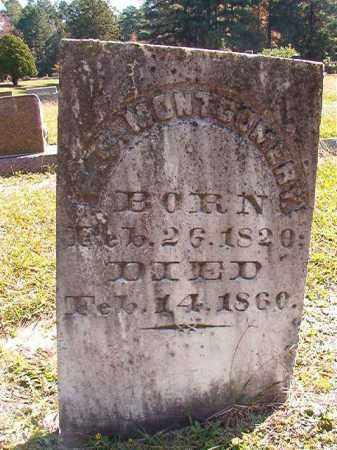 MONTGOMERY, B S - Dallas County, Arkansas | B S MONTGOMERY - Arkansas Gravestone Photos