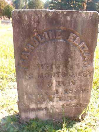 MONTGOMERY, CAROLINE ELIZA - Dallas County, Arkansas | CAROLINE ELIZA MONTGOMERY - Arkansas Gravestone Photos