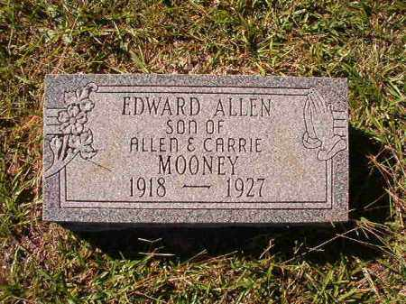 MOONEY, EDWARD ALLEN - Dallas County, Arkansas | EDWARD ALLEN MOONEY - Arkansas Gravestone Photos
