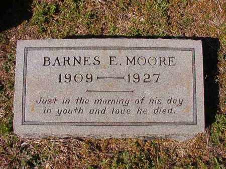 MOORE, BARNES E - Dallas County, Arkansas | BARNES E MOORE - Arkansas Gravestone Photos