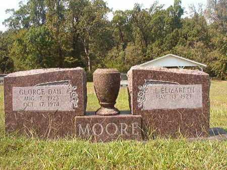 MOORE, GEORGE DAIL - Dallas County, Arkansas   GEORGE DAIL MOORE - Arkansas Gravestone Photos