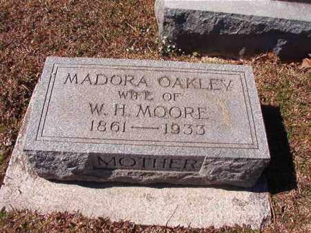 OAKLEY MOORE, MADORA - Dallas County, Arkansas | MADORA OAKLEY MOORE - Arkansas Gravestone Photos