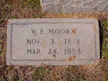 MOORE, W E - Dallas County, Arkansas   W E MOORE - Arkansas Gravestone Photos