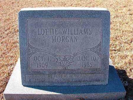 MORGAN, LOTTIE WILLIAMS - Dallas County, Arkansas | LOTTIE WILLIAMS MORGAN - Arkansas Gravestone Photos
