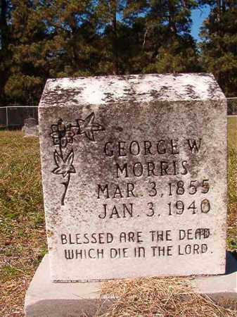 MORRIS, GEORGE W - Dallas County, Arkansas | GEORGE W MORRIS - Arkansas Gravestone Photos