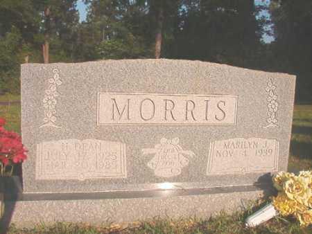MORRIS, H DEAN - Dallas County, Arkansas | H DEAN MORRIS - Arkansas Gravestone Photos