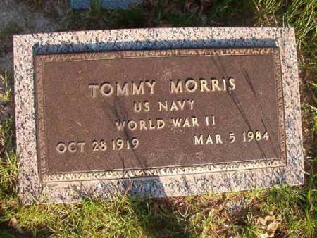 MORRIS (VETERAN WWII), TOMMY - Dallas County, Arkansas | TOMMY MORRIS (VETERAN WWII) - Arkansas Gravestone Photos
