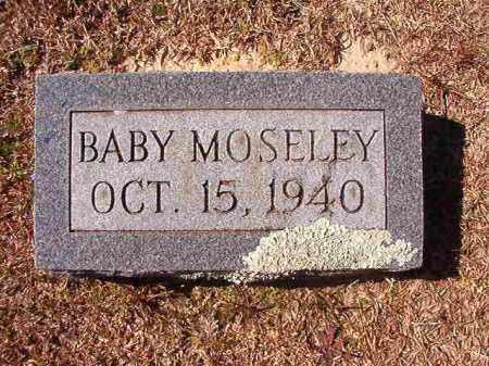MOSELEY, BABY - Dallas County, Arkansas | BABY MOSELEY - Arkansas Gravestone Photos