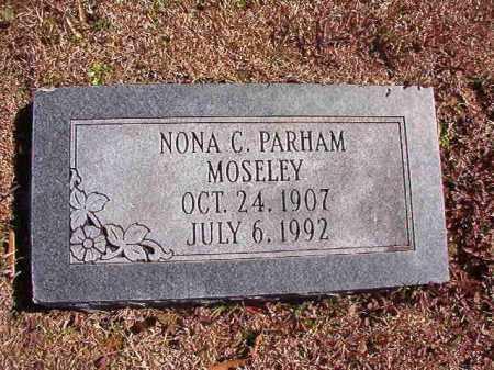 PARHAM MOSELEY, NONA C - Dallas County, Arkansas | NONA C PARHAM MOSELEY - Arkansas Gravestone Photos