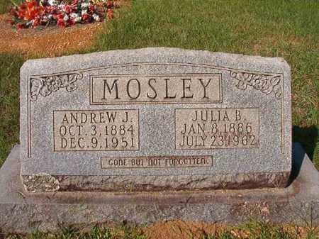 MOSLEY, JULIA B - Dallas County, Arkansas | JULIA B MOSLEY - Arkansas Gravestone Photos