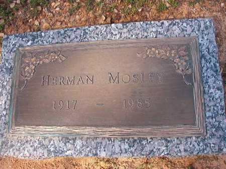 MOSLEY, HERMAN - Dallas County, Arkansas | HERMAN MOSLEY - Arkansas Gravestone Photos
