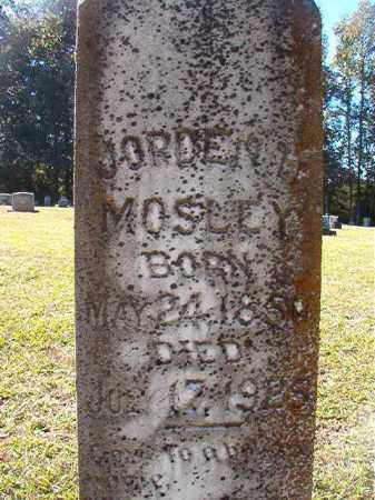 MOSLEY, JORDEN H - Dallas County, Arkansas | JORDEN H MOSLEY - Arkansas Gravestone Photos