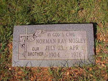 MOSLEY, NORMAN RAY - Dallas County, Arkansas   NORMAN RAY MOSLEY - Arkansas Gravestone Photos