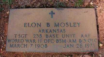 MOSLEY (VETERAN WWII), ELON B - Dallas County, Arkansas   ELON B MOSLEY (VETERAN WWII) - Arkansas Gravestone Photos