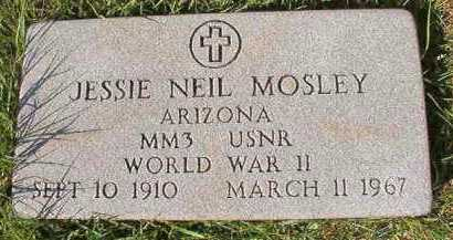 MOSLEY (VETERAN WWII), JESSIE NEIL - Dallas County, Arkansas   JESSIE NEIL MOSLEY (VETERAN WWII) - Arkansas Gravestone Photos