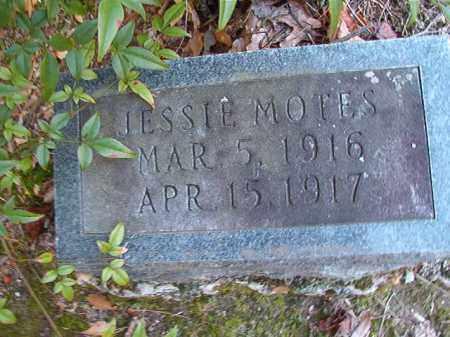 MOTES, JESSIE - Dallas County, Arkansas | JESSIE MOTES - Arkansas Gravestone Photos