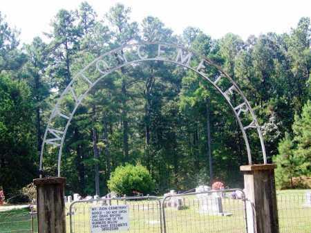 *MT ZION, CEMETERY GATE - Dallas County, Arkansas | CEMETERY GATE *MT ZION - Arkansas Gravestone Photos