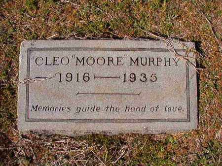 MOORE MURPHY, CLEO - Dallas County, Arkansas | CLEO MOORE MURPHY - Arkansas Gravestone Photos