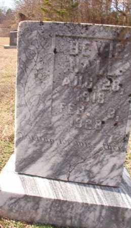 NALL, BEVIE - Dallas County, Arkansas   BEVIE NALL - Arkansas Gravestone Photos
