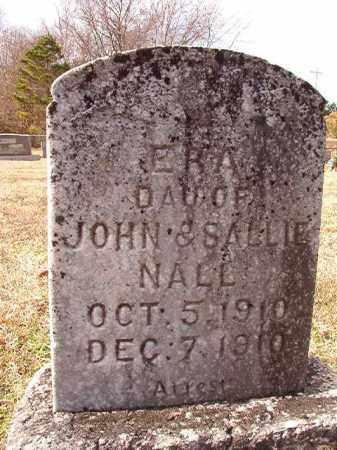 NALL, ERA - Dallas County, Arkansas   ERA NALL - Arkansas Gravestone Photos